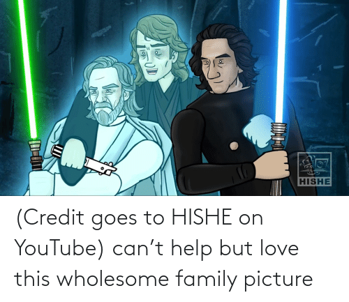 Wholesome Family: (Credit goes to HISHE on YouTube) can't help but love this wholesome family picture