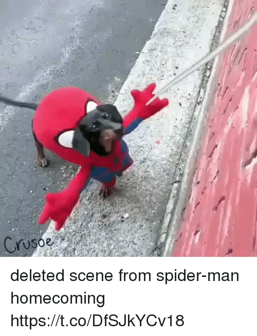 spider-man-homecoming: Cruso deleted scene from spider-man homecoming https://t.co/DfSJkYCv18