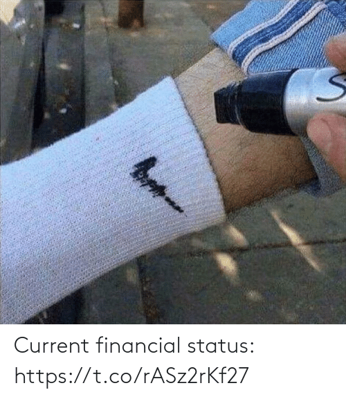 Financial: Current financial status: https://t.co/rASz2rKf27