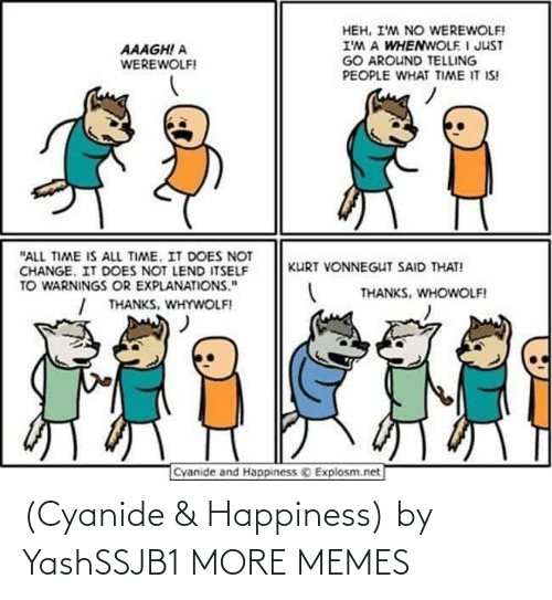 Happiness: (Cyanide & Happiness) by YashSSJB1 MORE MEMES