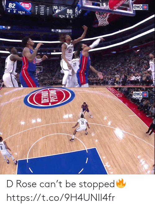 Rose: D Rose can't be stopped🔥 https://t.co/9H4UNII4fr