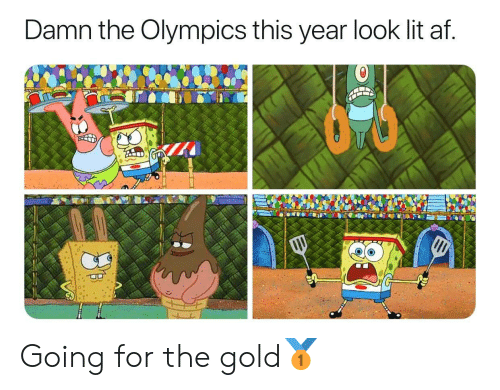 For The Gold: Damn the Olympics this year look lit af. Going for the gold🥇