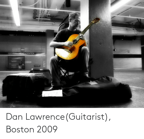 dan: Dan Lawrence(Guitarist), Boston 2009
