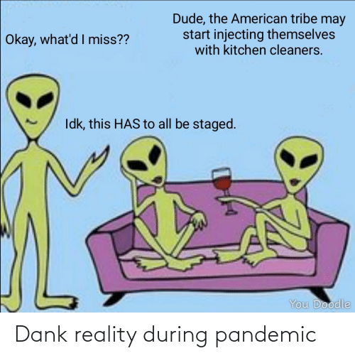 Reality: Dank reality during pandemic