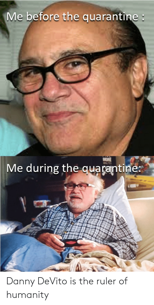 Funny, Ruler, and Humanity: Danny DeVito is the ruler of humanity