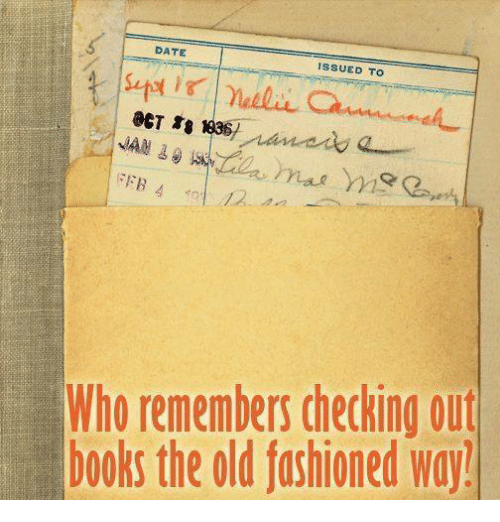 Decked Out: DATE  ISSUED TO  NAM  FEB 4  Who remembers decking out  books the old fashioned way!