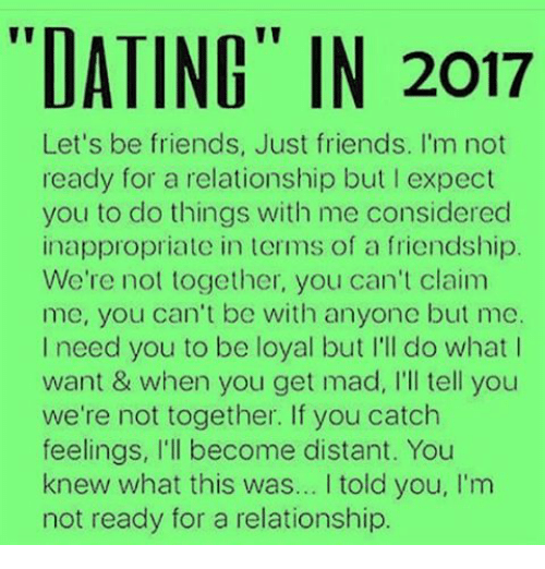 dating are we just friends