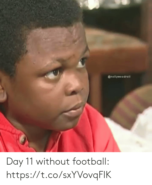 Football: Day 11 without football: https://t.co/sxYVovqFIK