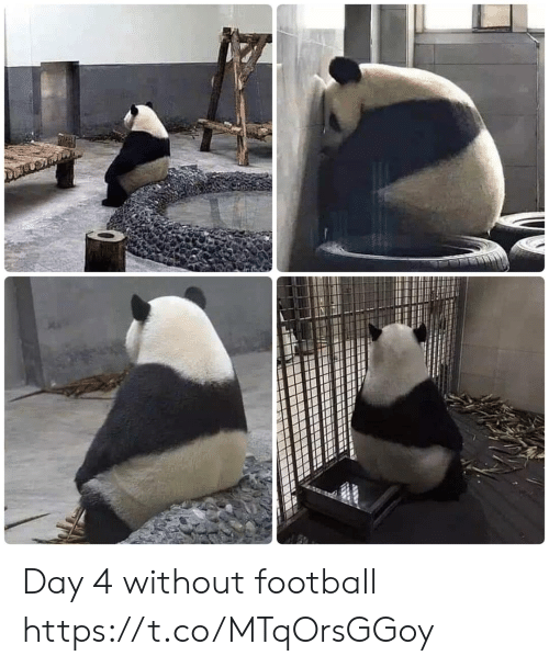 Day 4: Day 4 without football https://t.co/MTqOrsGGoy