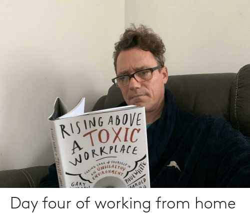 working from home: Day four of working from home