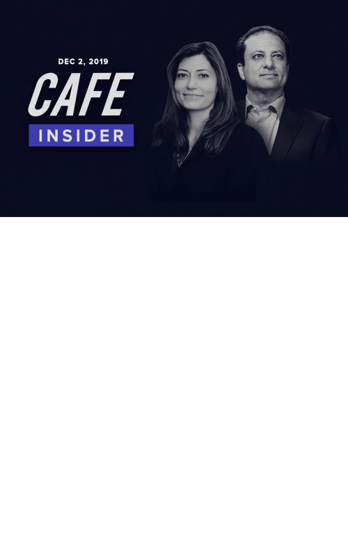 Memes, Break, and House: DEC 2, 2019  CAFE  INSIDER Ahead of the House Judiciary Committee's first public hearing tomorrow, @PreetBharara and @AnneMilgram break down what to expect on this week's CAFE Insider podcast: https://t.co/IgAc9TEzIt https://t.co/xhZw8MSoFz