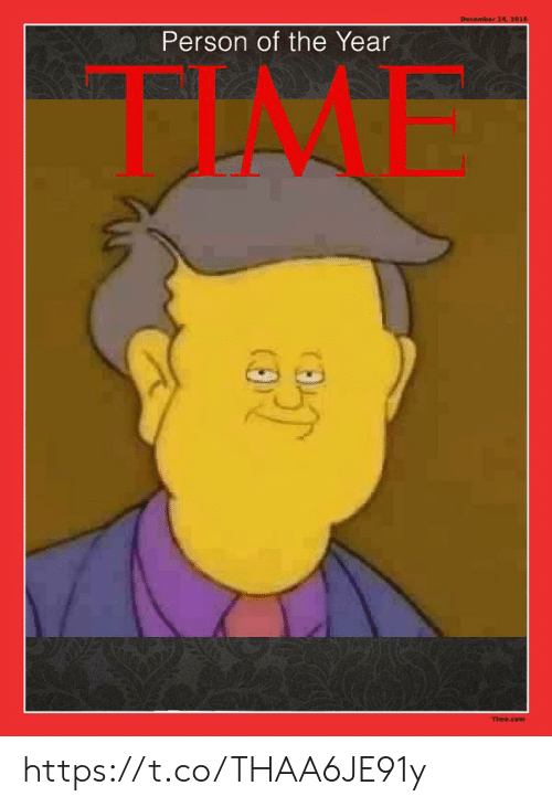 Time, December 24, and Com: December 24, 2016  Person of the Year  FIAME  Time.com https://t.co/THAA6JE91y