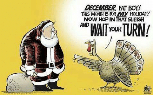 Mexican Word of the Day: DECEMBER FAT BOY!  THIS MONTHS FOR MY HOLIDAY!  Now HOPINTHAT SLEIGH  YOUR