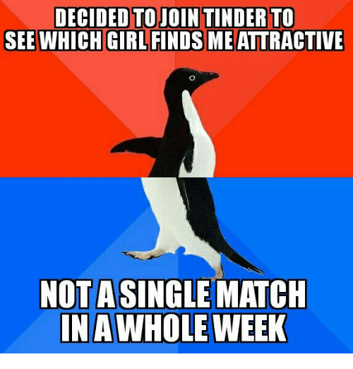 not getting any matches on tinder