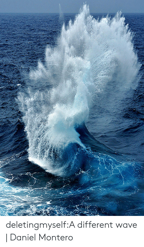 Target, Tumblr, and Blog: deletingmyself:A different wave |Daniel Montero