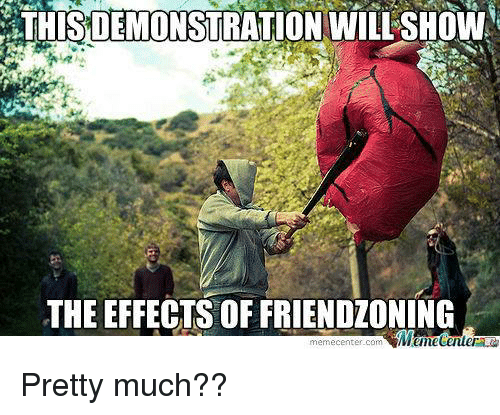 Meme Center Com: DEMONSTRATION WI  THE EFFECTS OF FRIENDLONING  meme center-com Pretty much??