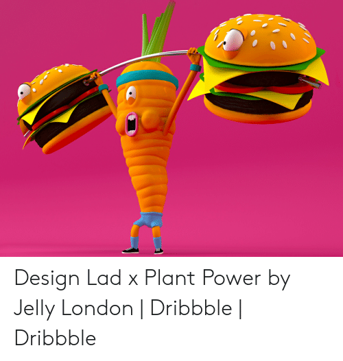 Orange Lad: Design Lad x Plant Power by Jelly London | Dribbble | Dribbble