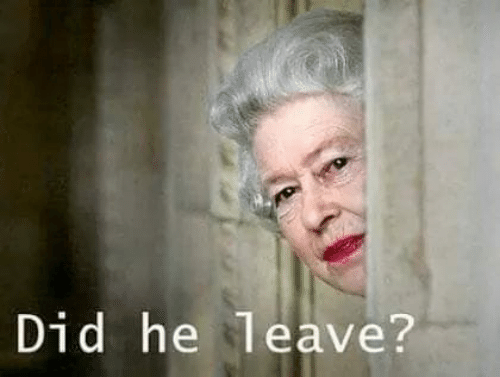 Did, Leave, and Did-He: Did he leave?