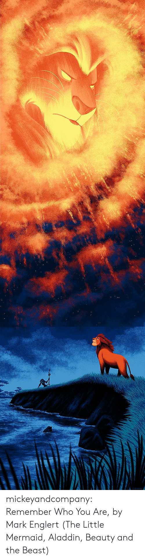 Aladdin, Disney, and Funny: Dienoy mickeyandcompany: Remember Who You Are, by Mark Englert (The Little Mermaid, Aladdin, Beauty and the Beast)