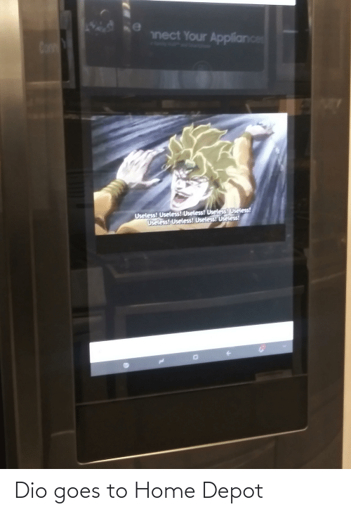 Depot: Dio goes to Home Depot