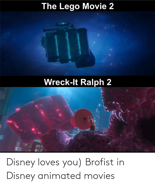 Animated: Disney loves you) Brofist in Disney animated movies