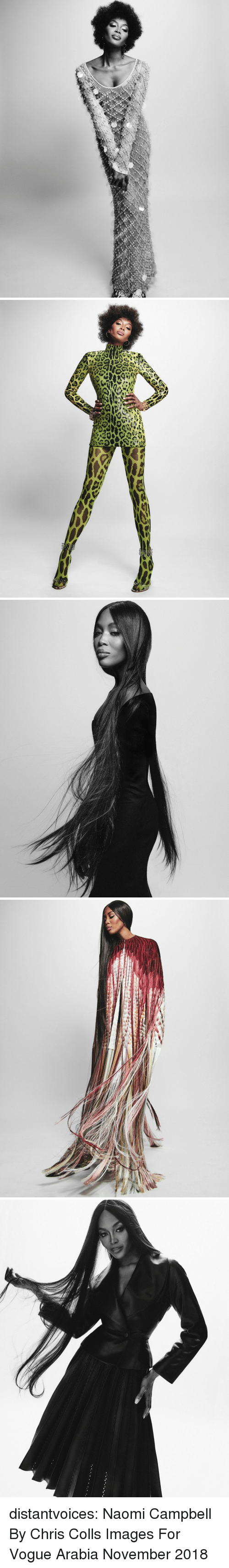 vogue: distantvoices:  Naomi Campbell By Chris Colls Images For Vogue Arabia November 2018