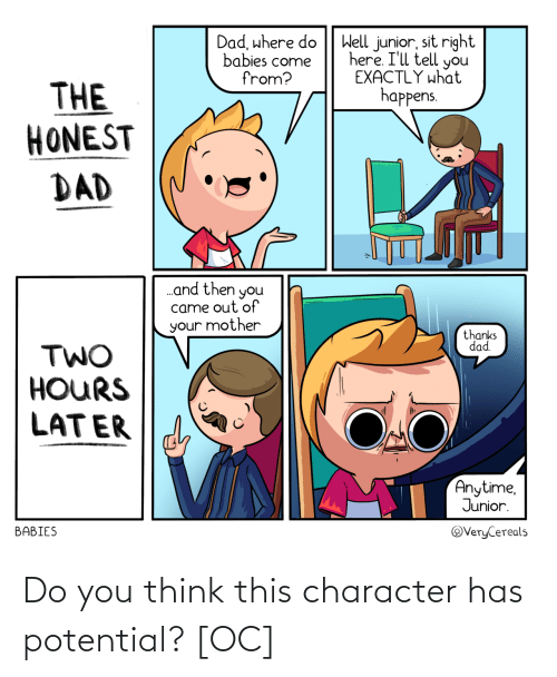 You Think: Do you think this character has potential? [OC]