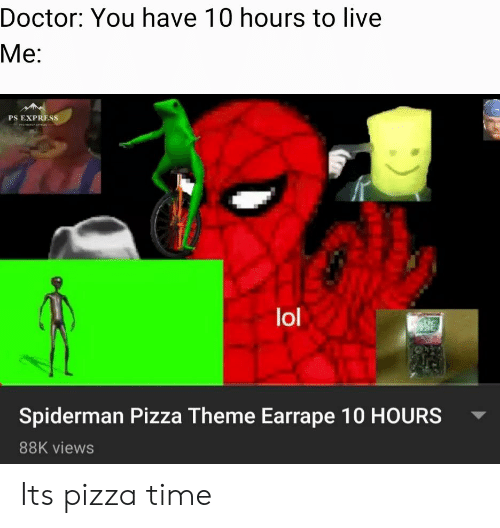 25 Best Memes About Spiderman Pizza Theme Spiderman