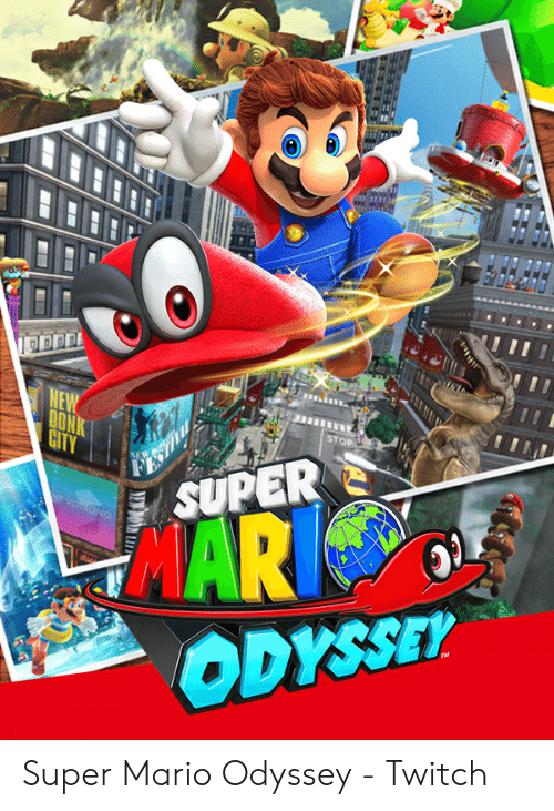 mario pictures: DON  ST  DYSSET Super Mario Odyssey - Twitch