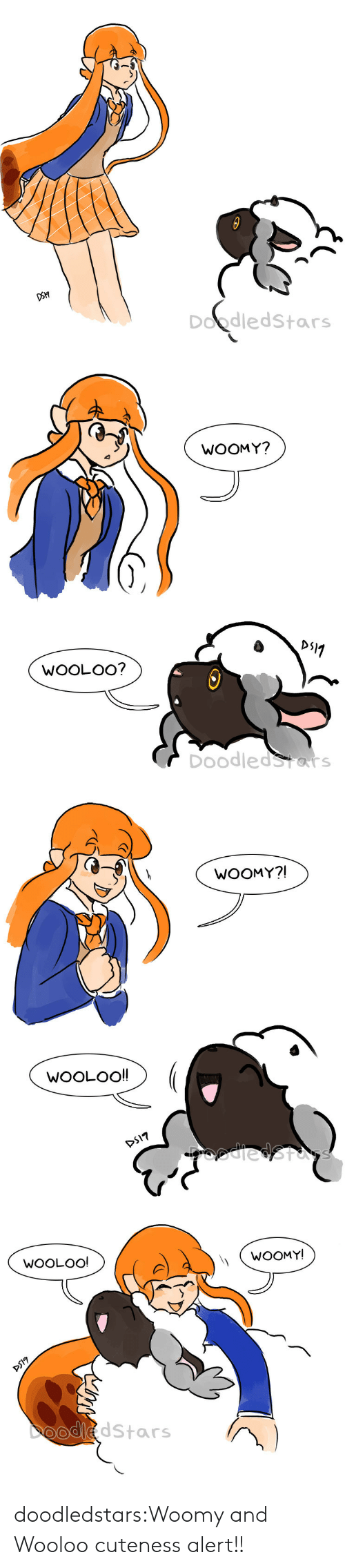 cuteness: Doodledstars   WOOMY?  WOOLOO?  DoodledStars   WOOMY?!  WOOLOO!!  DS17  odiedStas   WOOLOO!  WOOMY!  DS17  DooddStars doodledstars:Woomy and Wooloo cuteness alert!!