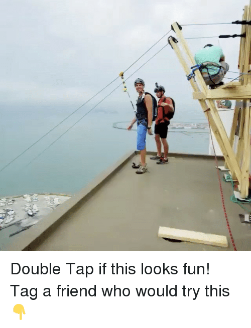 Looks Fun: Double Tap if this looks fun! Tag a friend who would try this 👇