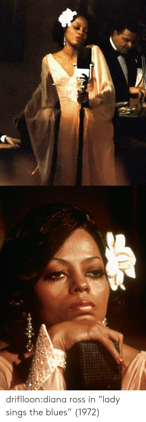 "diana: driflloon:diana ross in ""lady sings the blues"" (1972)"