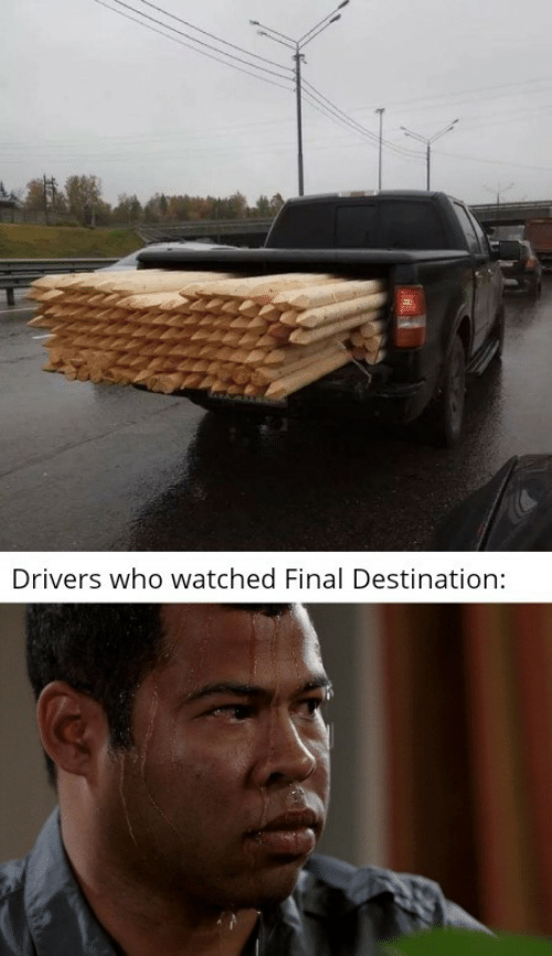 Final Destination, Who, and Drivers: Drivers who watched Final Destination: