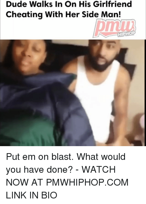 Duded: Dude Walks In On His Girlfriend  Cheating With Her Side Man!  pmiu  mub  HIPHOP Put em on blast. What would you have done? - WATCH NOW AT PMWHIPHOP.COM LINK IN BIO