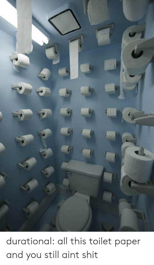 Shit, Target, and Tumblr: durational:  all this toilet paper and you still aint shit
