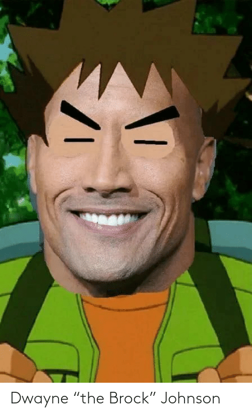 "Johnson: Dwayne ""the Brock"" Johnson"
