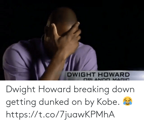 Kobe: Dwight Howard breaking down getting dunked on by Kobe. 😂 https://t.co/7juawKPMhA