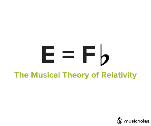 theory of relativity: E = Fb  The Musical Theory of Relativity  musicnotes