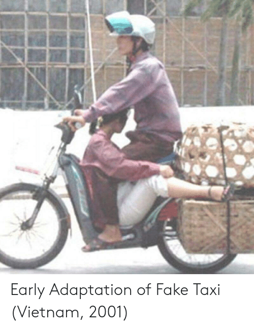 Fake, Taxi, and Vietnam: Early Adaptation of Fake Taxi (Vietnam, 2001)