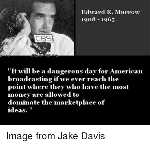 the differences between john proctor and edward murrow Cbs newsman, edward r murrow, aired an investigative news report which revealed mccarthy as dishonest in his mistress of john proctor but.
