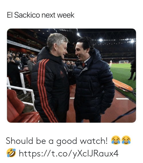 Soccer, Good, and Watch: El Sackico next week  he Indian Ocon Should be a good watch! ??? https://t.co/yXcIJRaux4