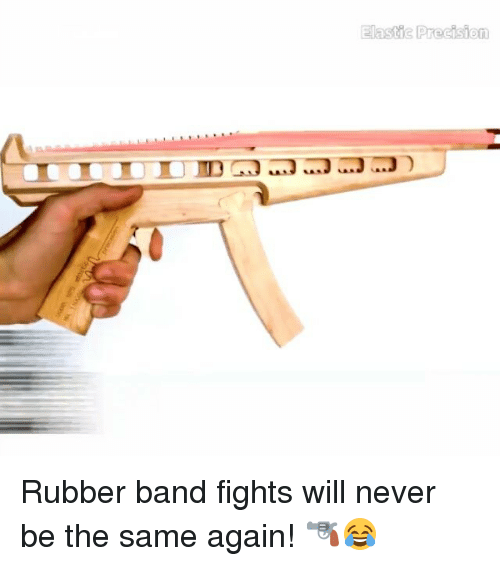 Rubber Banding: Elastic Precision Rubber band fights will never be the same again! 🔫😂