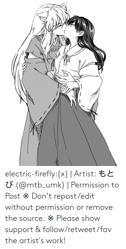 edit: electric-firefly:{x} | Artist: もとび (@mtb_umk) | Permission to Post  ※ Don't repost/edit without permission or remove the source. ※ Please show support & follow/retweet/fav the artist's work!