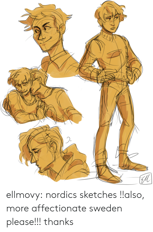 Target, Tumblr, and Blog: ellmovy:  nordics sketches !!also, more affectionate sweden please!!! thanks