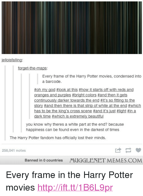 Elloisfalling Forget-The-Maps Every Frame of the Harry Potter Movies ...