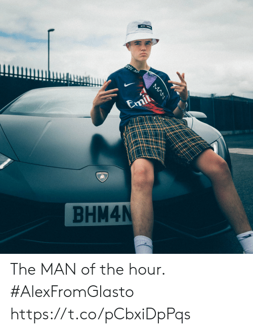 Memes, 🤖, and Man: Emil  BHM4N  MAN The MAN of the hour.   #AlexFromGlasto https://t.co/pCbxiDpPqs