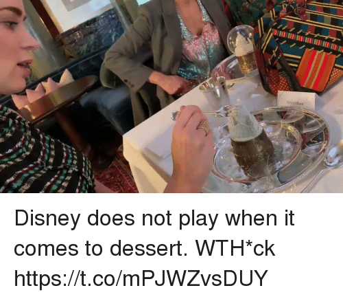 Disney, Memes, and Dessert: Emiy Blunt Disney does not play when it comes to dessert. WTH*ck https://t.co/mPJWZvsDUY