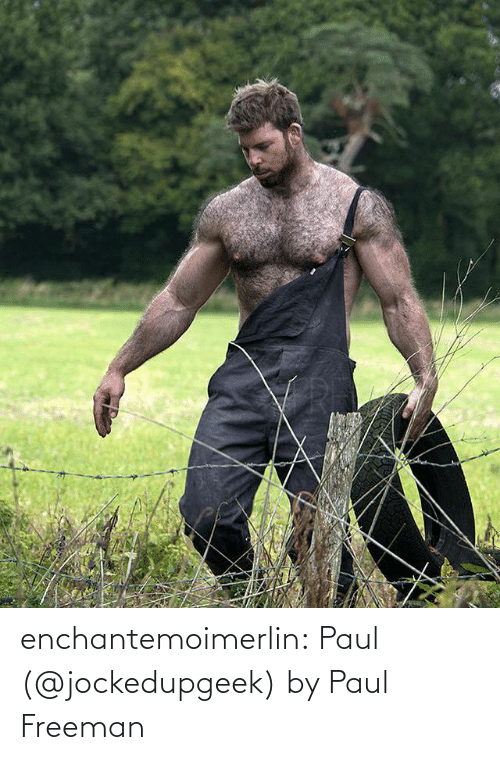 freeman: enchantemoimerlin:  Paul (@jockedupgeek) by Paul Freeman