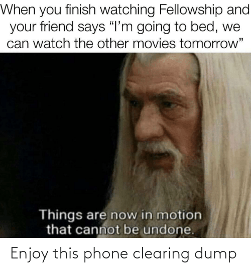 dump: Enjoy this phone clearing dump
