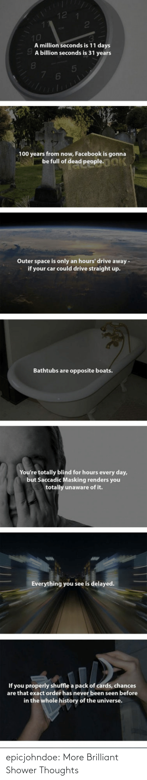 thoughts: epicjohndoe:  More Brilliant Shower Thoughts